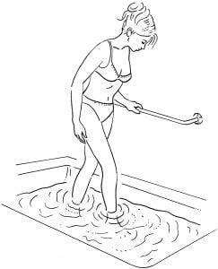 Water Treading