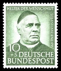 Sebastian Kneipp Stamp